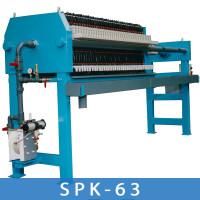 Kammerfilterpresse SPK63 – DE